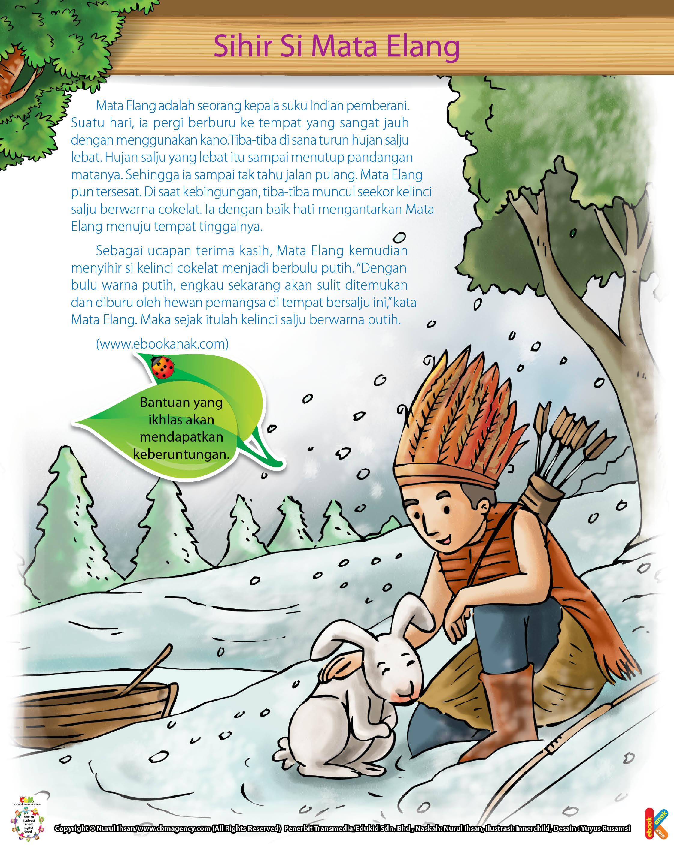 Asal Mula Kelinci Salju Berwarna Putih Ebook Anak