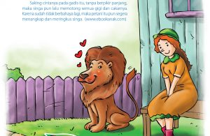 Singa itu jatuh cinta pada seorang putri petani.