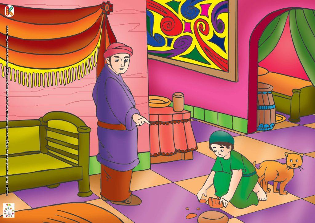 Kemudian saat Magrib tiba, Abdullah bin Umar akan berbuka puasa dengan roti yang jatuh tadi.