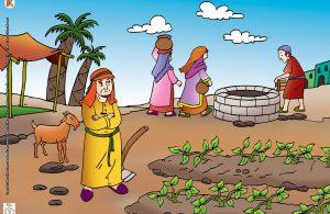 Orang-orang di sekitar tanah itu, sering datang mengambil air ke sumber mata air itu.