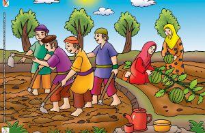 Namun meski semua ladang sudah digali, mereka tidak juga menemukan harta terpendam itu.