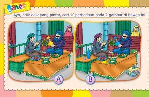 lembar aktivitas anak muslim.