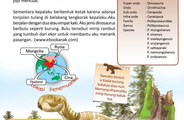 Psittacosaurus berjalan dengan dua atau empat kaki.