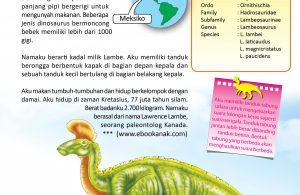 Beberapa jenis dinosaurus bermoncong bebek memiliki lebih dari 1000 gigi.