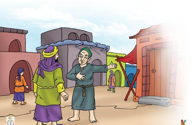 Orang Yahudi itu sengaja datang menghadap Khalifah Umar bin Khattab untuk mengabarkan tentang gubuknya.