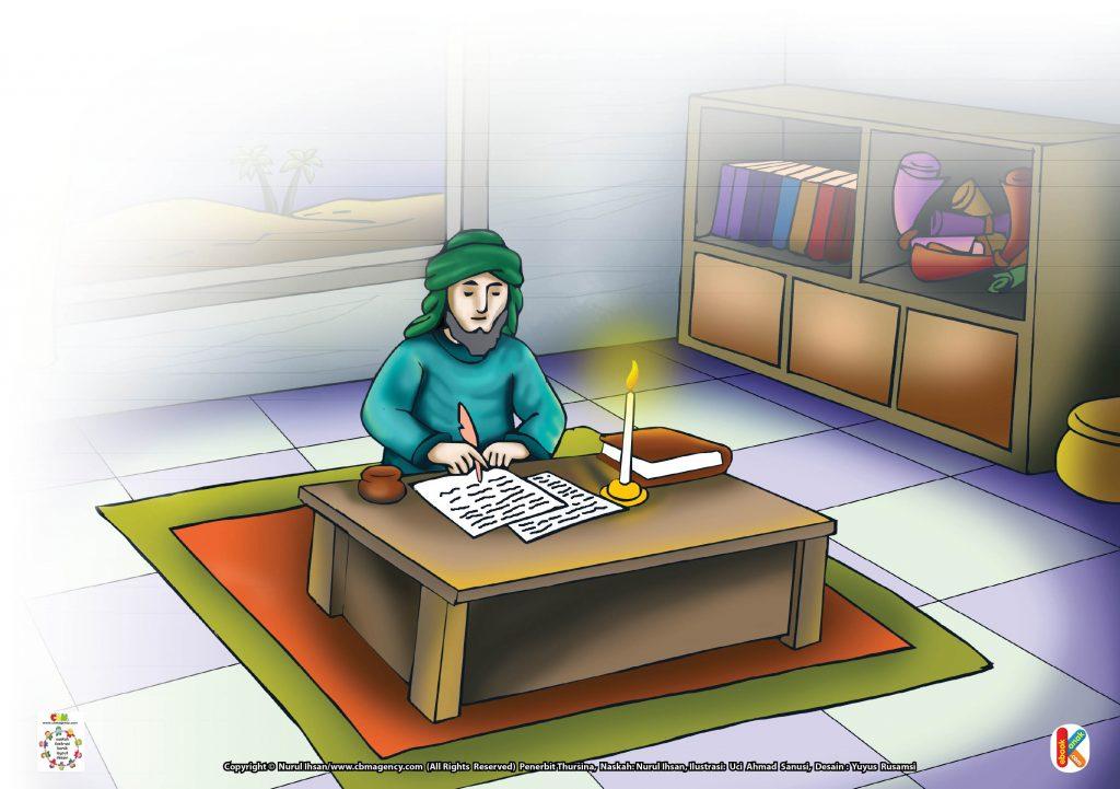 Download Gambar Gratis Asmaul Husna for Kids 97 Al-Waarits Kenapa Imam Bukhori