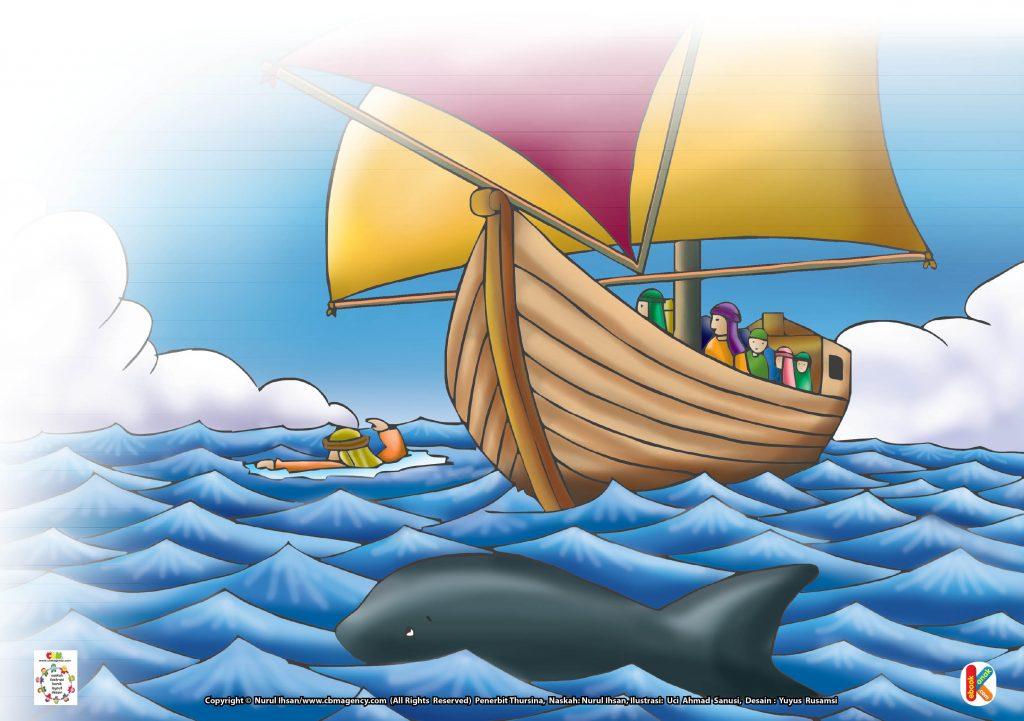 Nabi Yunus as. pun segera bertobat.