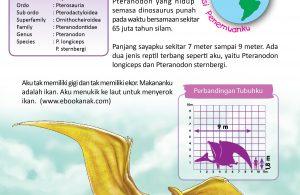 Pteranodon adalah Pterosaurus akhir yang hidup semasa dinosaurus punah pada waktu bersamaan sekitar 65 juta tahun silam.