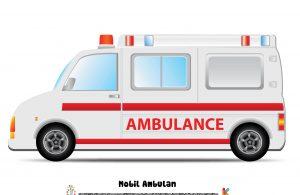 Mobil ambulans akan akan membawa orang sakit atau cedera dari satu tempat ke tempat medis atau rumah sakit untuk mendapatkan perawatan lebih lanjut.