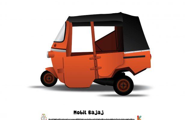 Kendaraan ini juga dinamai bajaj sesuai dengan nama produsennya dari India, Bajaj auto.
