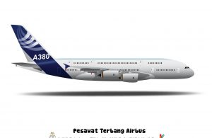 Airbus A380 adalah sebuah pesawat berbadan lebar dua tingkat.