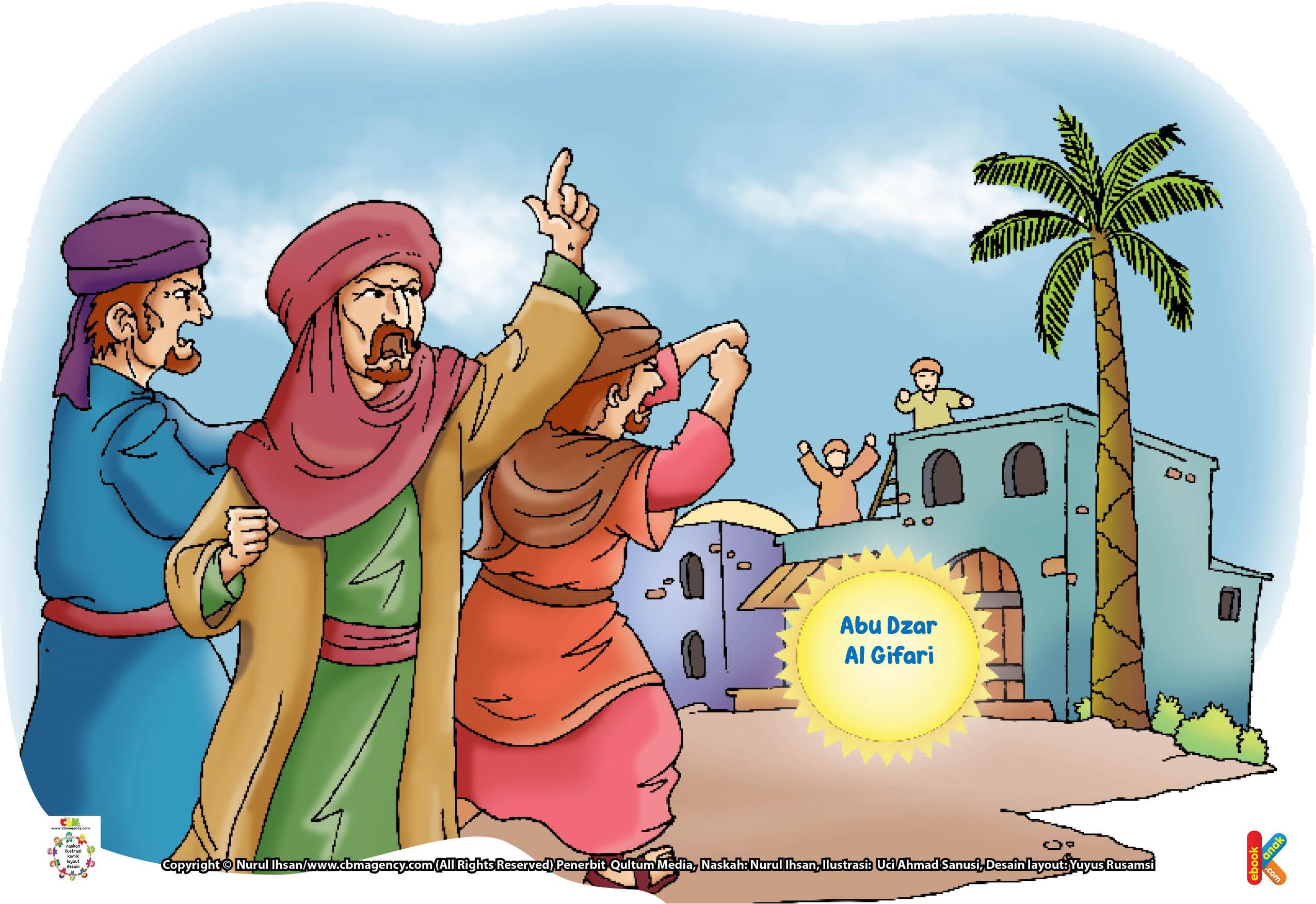 Abu Dzar Al Gifari berasal dari suku Ghiffar, sebuah suku yang dikenal sebagai suku penyamun atau perampok pada masa sebelum datangnya Islam.