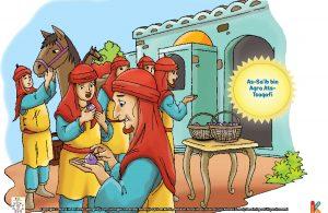 Harta berupa permata sebanyak dua keranjang penuh itu, diserahkan As-Sa'ib bin Aqra khusus untuk Khalifah Umar bin Khattab ra.