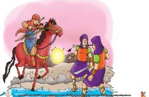 Dalam perang itu, Ashim bin Amru berhasil menaklukkan seorang jenderal Persia.