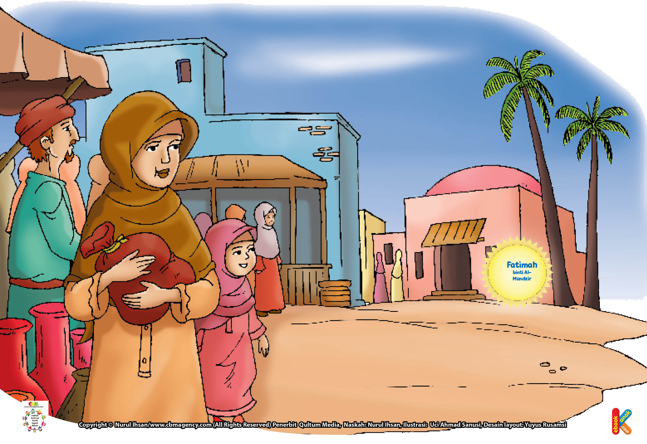 Karena sama-sama memiliki pengetahuan yang luas di bidang hadis, maka Fatimah binti al-Mundzir dan suaminya kemudian bekerja sama mengajarkan hadis kepada orang lain.