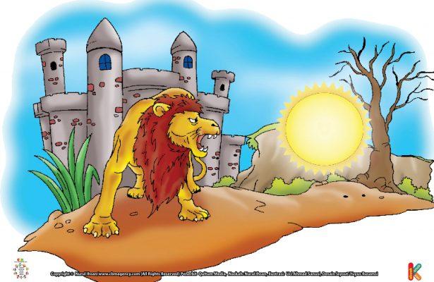 Singa yang pintar dan terlatih itu langsung menerkam Hasyim bin Utbah. Hasyim bin Utbah dengan sigap menikam singa itu hingga mati.