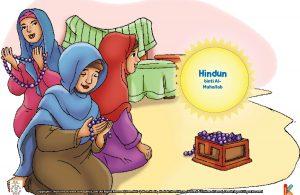 Hindun binti al-Muhallab memiliki banyak tasbih yang terbuat dari untaian permata.