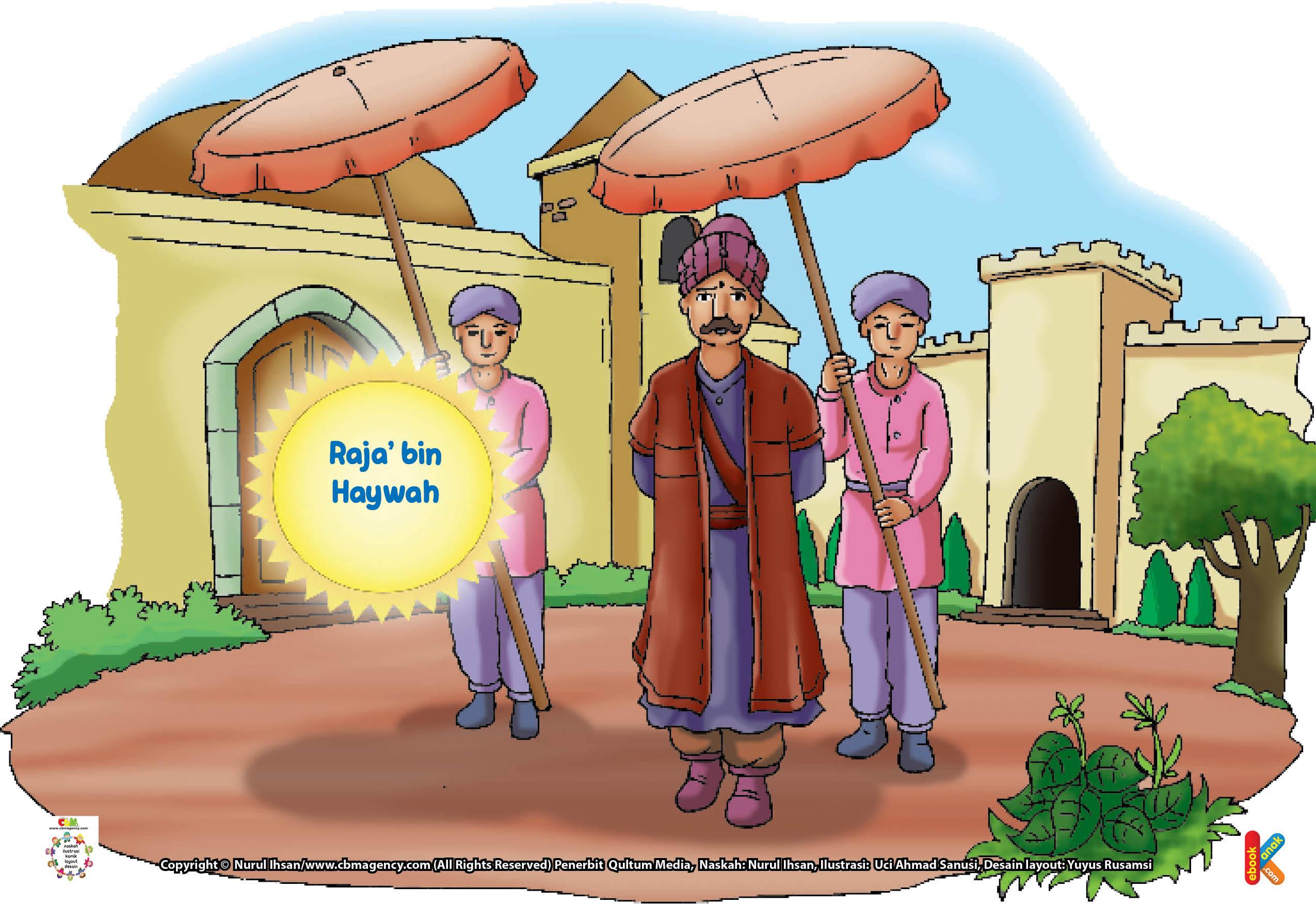 Karena kecerdasannya itulah, Raja' bin Haywah lalu diangkat menjadi menteri beberapa Khalifah Bani Umayyah.
