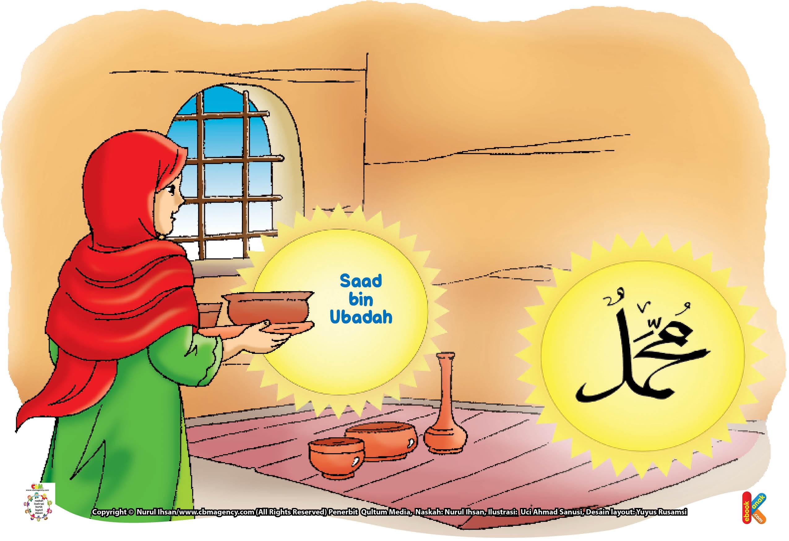 Mangkuk milik Sa'ad tersebut, lalu diedarkan oleh Rasulullah Saw ke rumah istri-istri beliau.