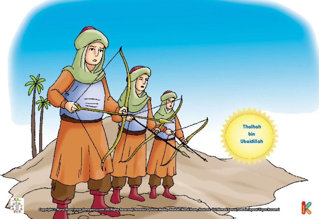 100-tokoh-teladan-muslim-thalhah-bin-ubaidillah-syahid-saat-masih-hidup