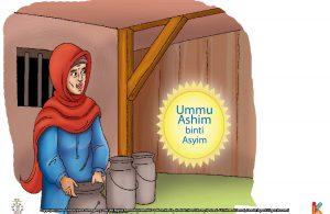 """Campurkan susu itu dengan air, agar kita mendapat banyak untung. Khalifah Umar bin Khattab, tentu tidak akan melihat kita!"""