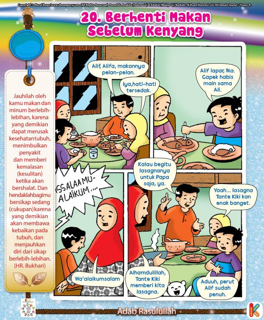 101-komik-adab-rasulullah-20-berhenti-makan-sebelum-kenyang