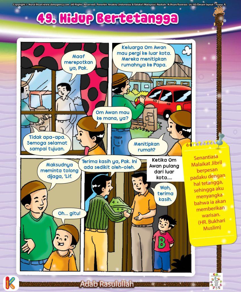 101-komik-adab-rasulullah-51-hidup-bertetangga