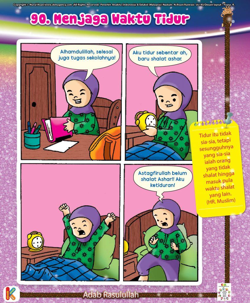 101-komik-adab-rasulullah-90-menjaga-waktu-tidur
