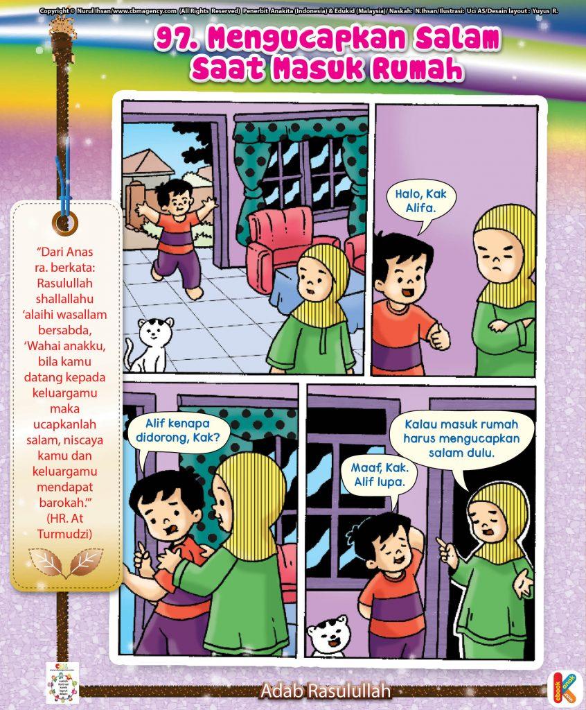 101-komik-adab-rasulullah-97-mengucapkan-salam-saat-masuk-rumah