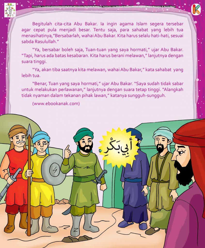 Abu Bakar Shiddiq hal 19 Abu Bakar dan Perlawanan pada Kaum Quraisy
