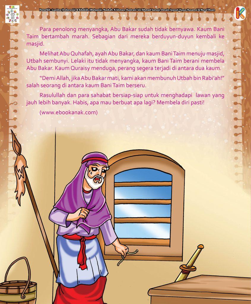 Abu Bakar Shiddiq hal 26 kemarahan keluarga abu bakar