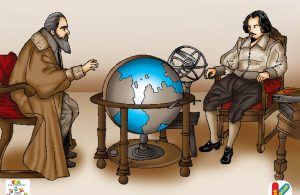 Galileo Galilei seorang fisikawan, matematikawan, astronomer, juga seorang filsuf yang berperan penting dalam Revolusi Ilmiah.