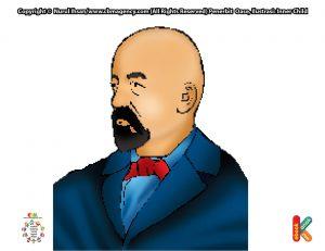 Gottlieb Daimler menciptakan kendaraan bermotor yang pertama di dunia.