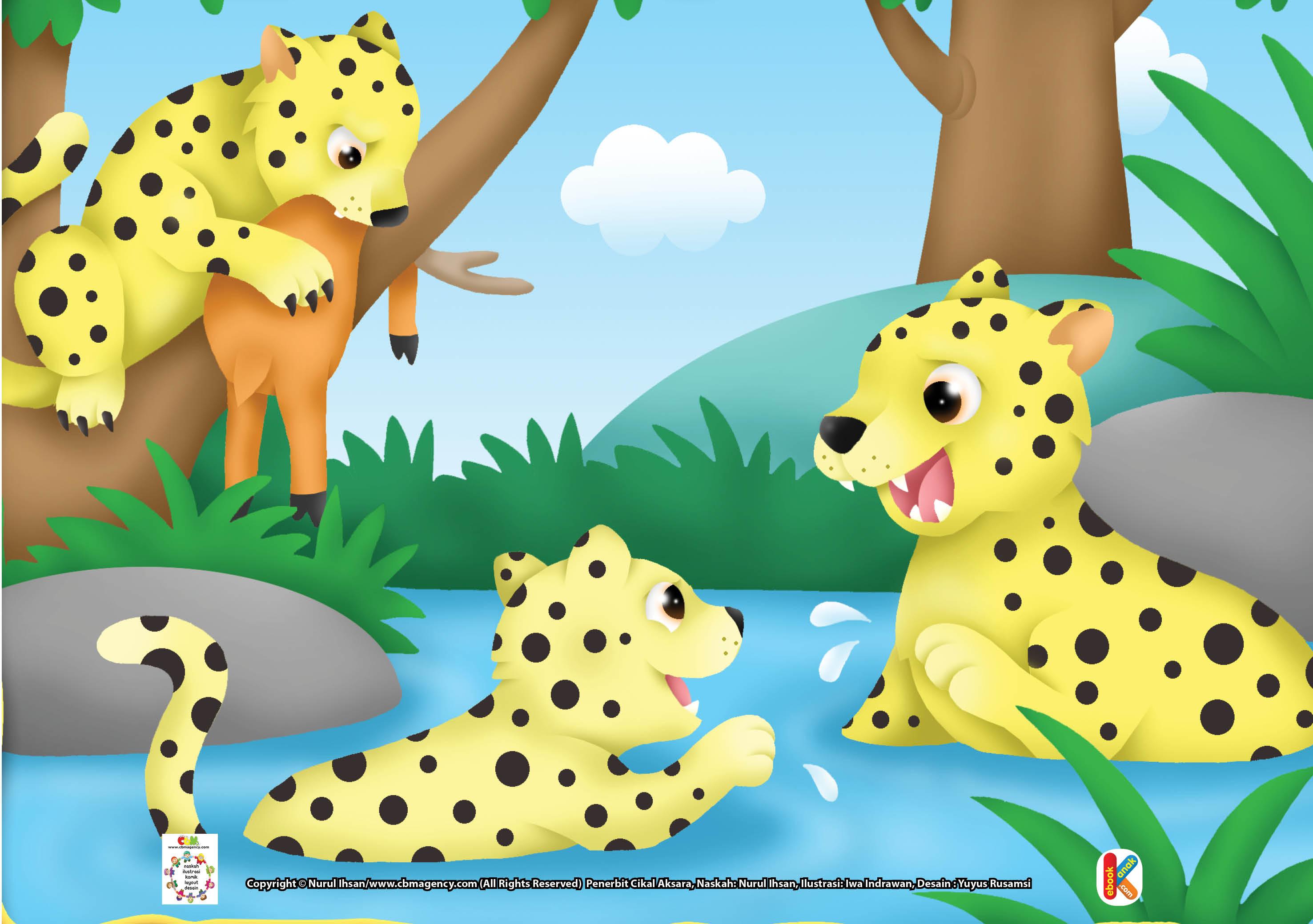 Kenapa Macan Tutul Dijuluki Macan Dahan Ebook Anak