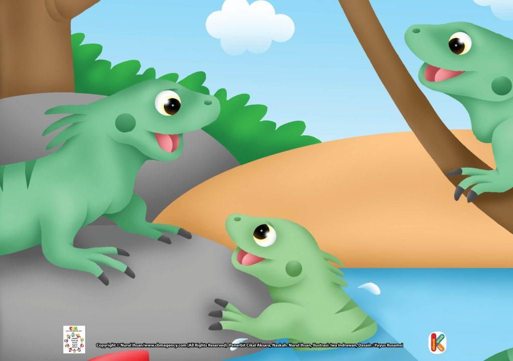Download Gambar Gratis.jpg 23 Iguana, Komodo Kecil yang Suka Menghindari Musuh