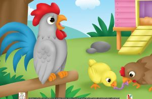 Saat beraksi, ayam serama akan membusungkan dadanya sehingga sayapnya menjuntai lurus ke bawah.