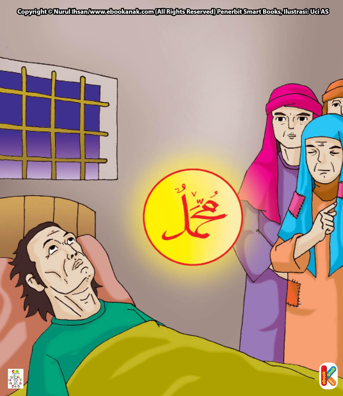 Maka ibunya pun tidak berkenan dengan Al Qomah dan menganggapnya telah durhaka padanya.