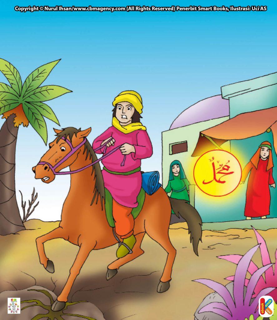 download-gambar-gratis-penunggang-kuda-yang-disuapi-malaikat