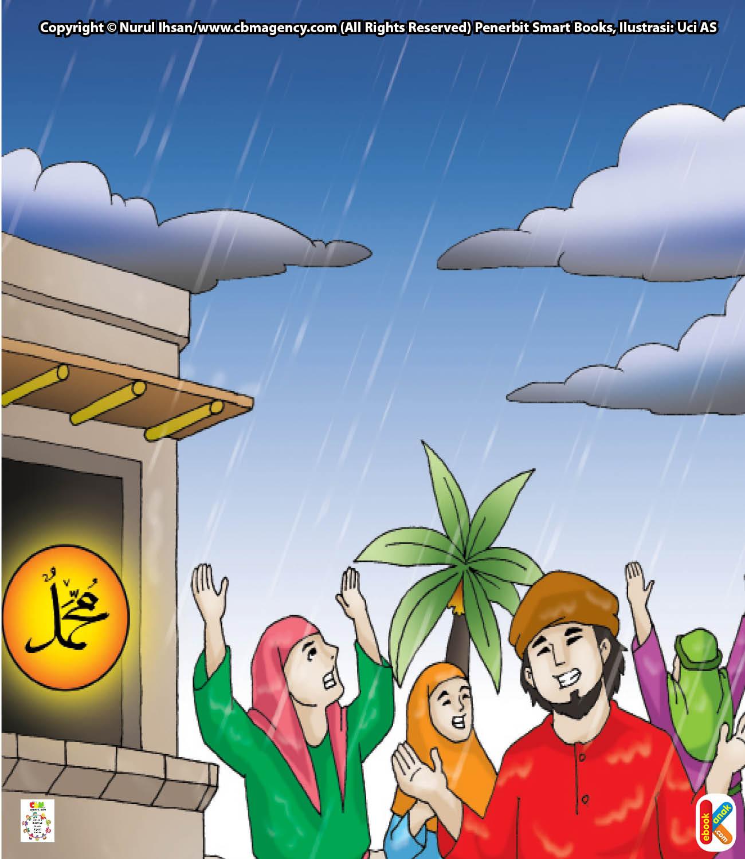 Saat itu di kota Madinah terjadi musim kemarau yang sangat panjang.