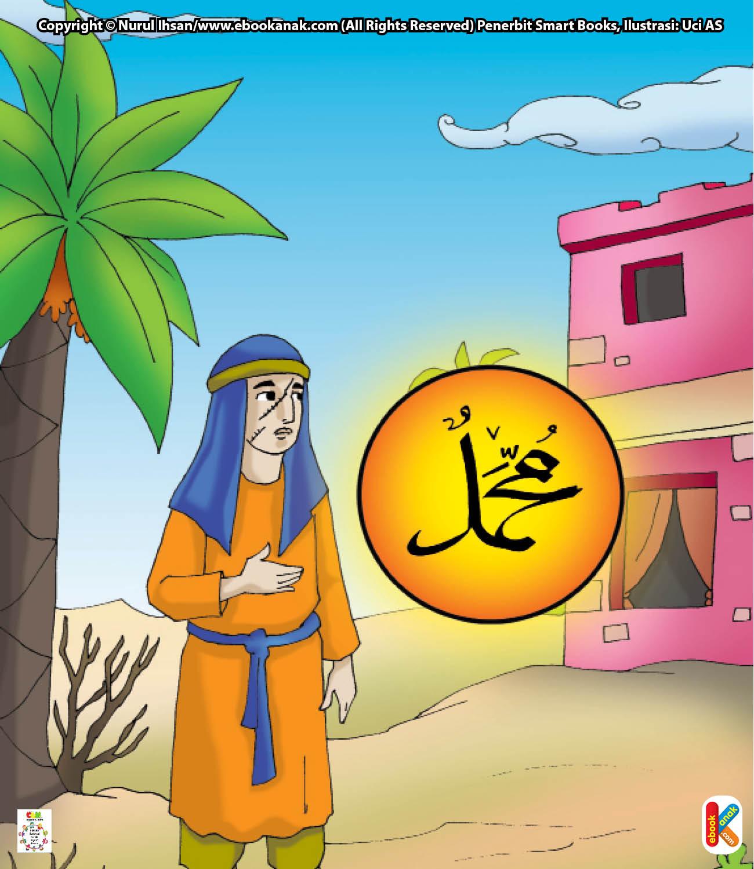Zahir bin Haram suka memberi hadiah pada Rasulullah Saw. sebagai oleh-oleh dari kampungnya.