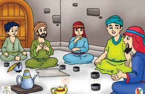 Ketika itu, cara Rasulullah menyebarkan agama Islam masih sembunyi-sembunyi.