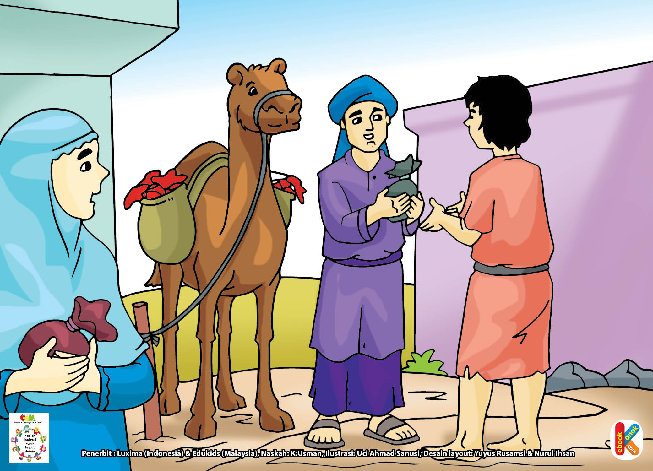Ayahnya bernama Utsman Abu Quhafah bin Amir.