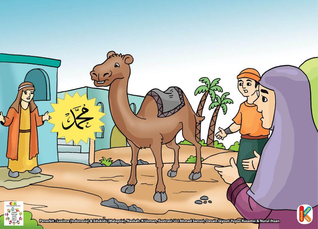 Download gambar gratis hal 37 Al Quswah unta rasul yang setia