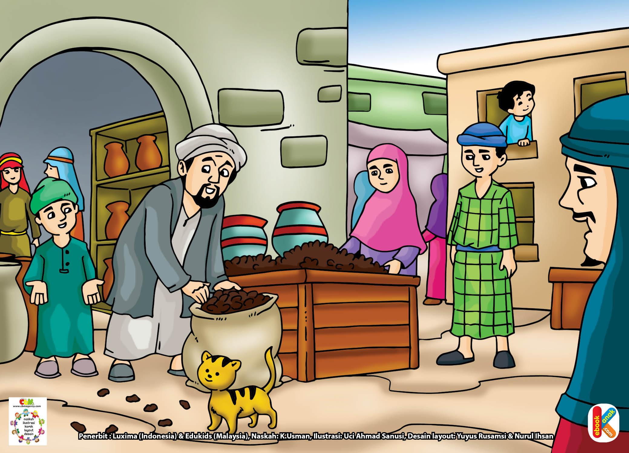 Download Gambar Gratis Hal 5 Abu Bakar Dan Keutamaan Jujur Ebook Anak