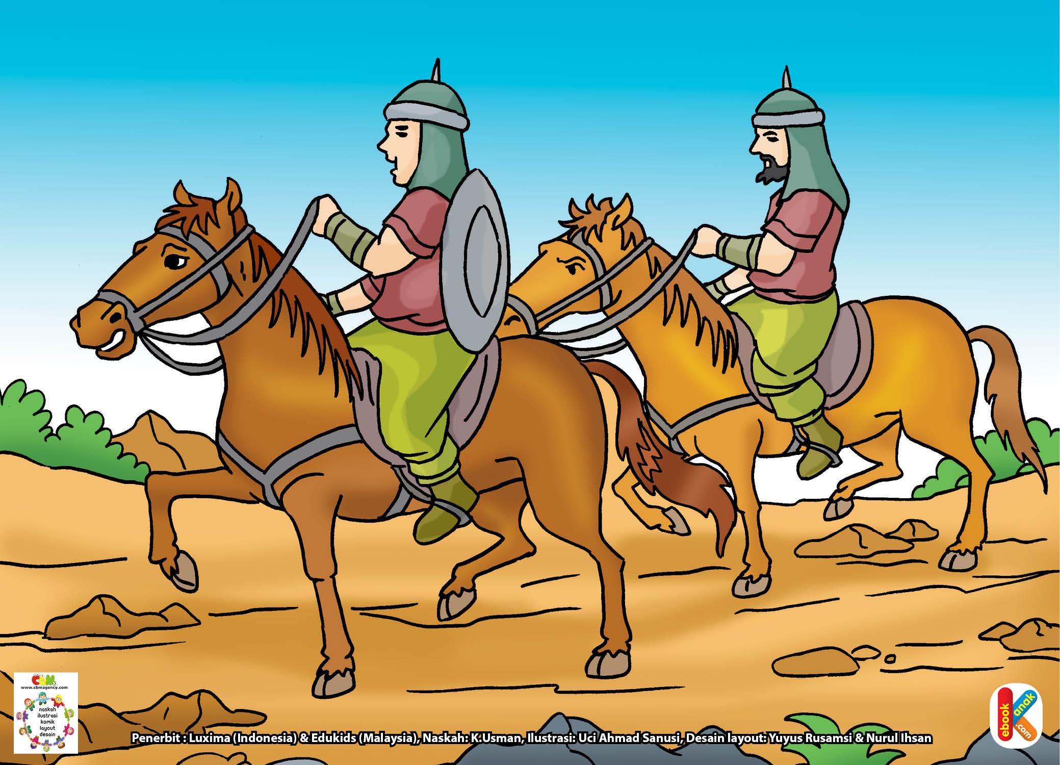 Ketika Rasulullah wafat, hubungan kedua kaum itu sempat retak.