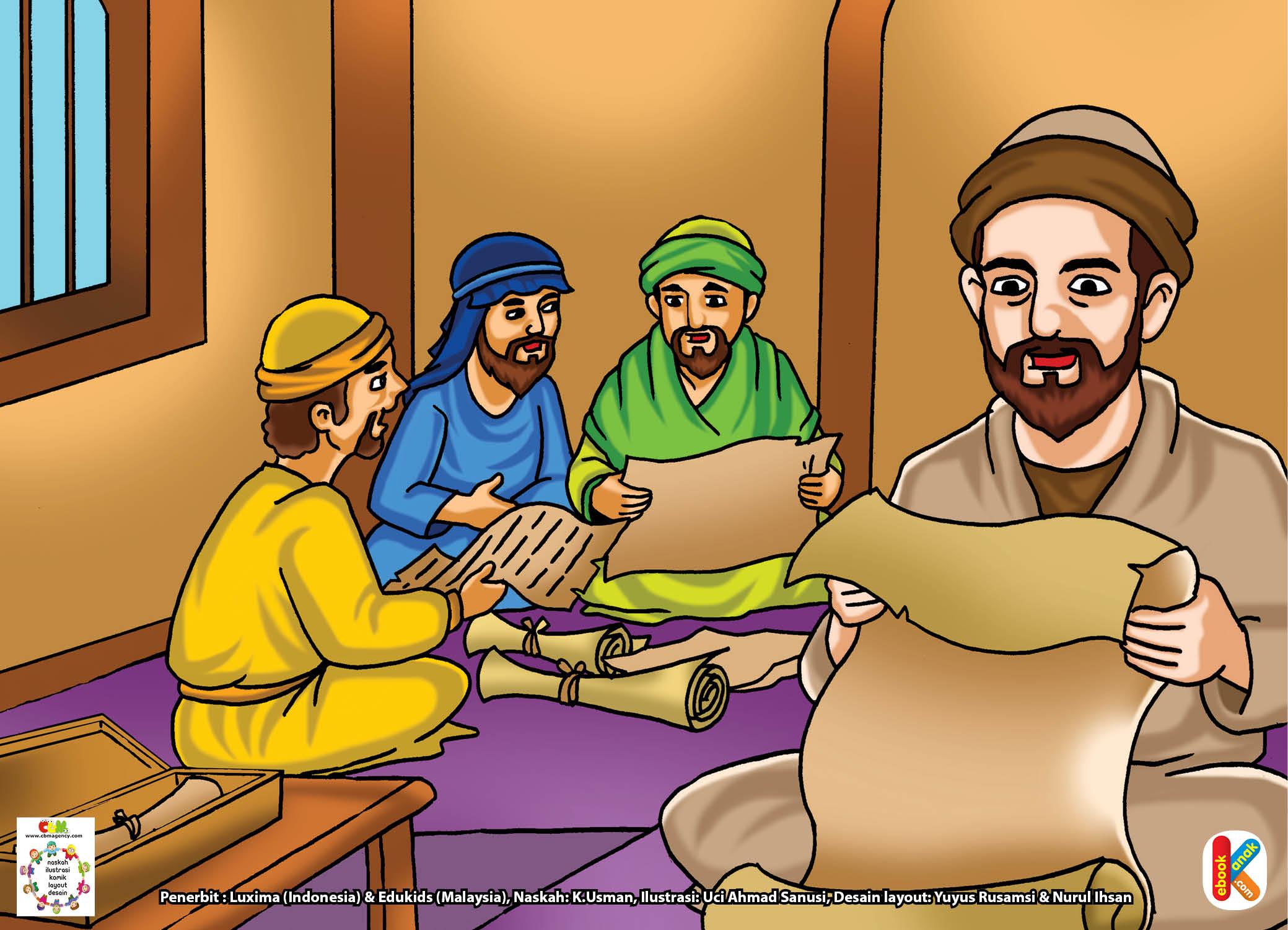 Tujuannya agar kelak, umat Islam memiliki kitab suci yang lengkap.