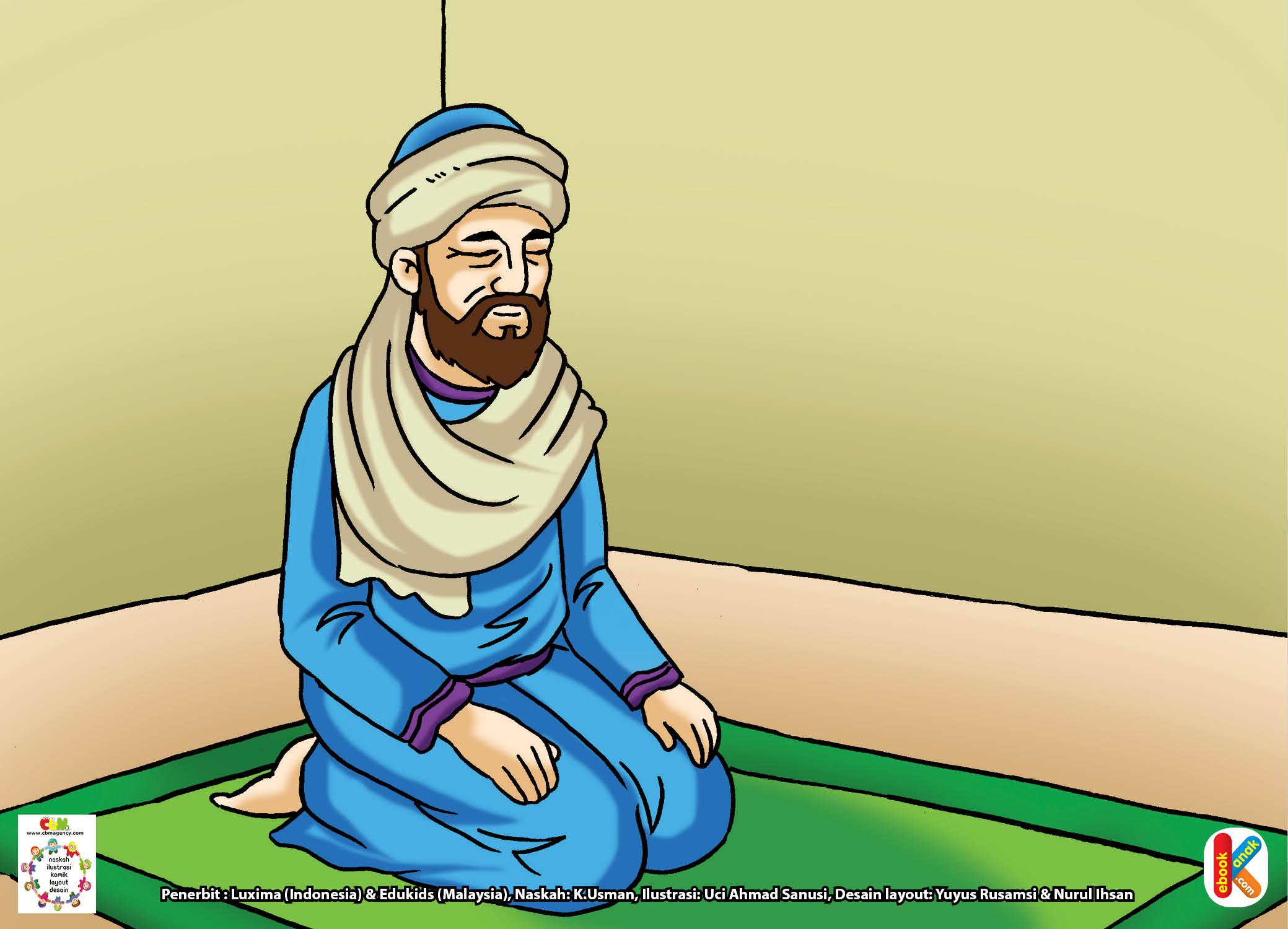 Khalifah Abu Bakar memang telah uzur dan sering sakit.