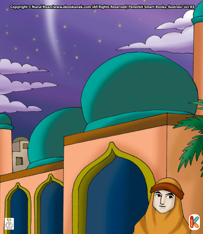 Pada malam itu, Allah Swt. memerintahkan Malaikat Jibril untuk menjemput Rasulullah Saw.