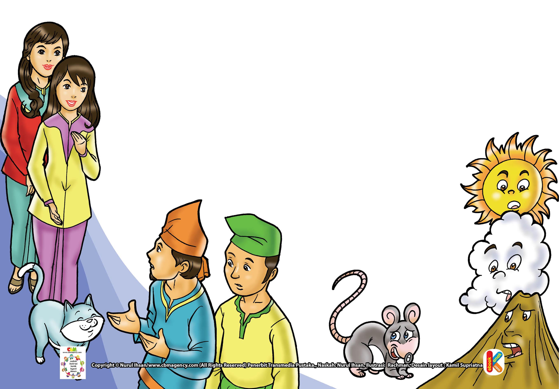 Suatu hari, datang dua pemuda yang ingin meminang Sulung dan Bungsu. Sebelum menikah, Sulung dan Bungsu menyuruh mereka untuk meminta restu dari ibunya.