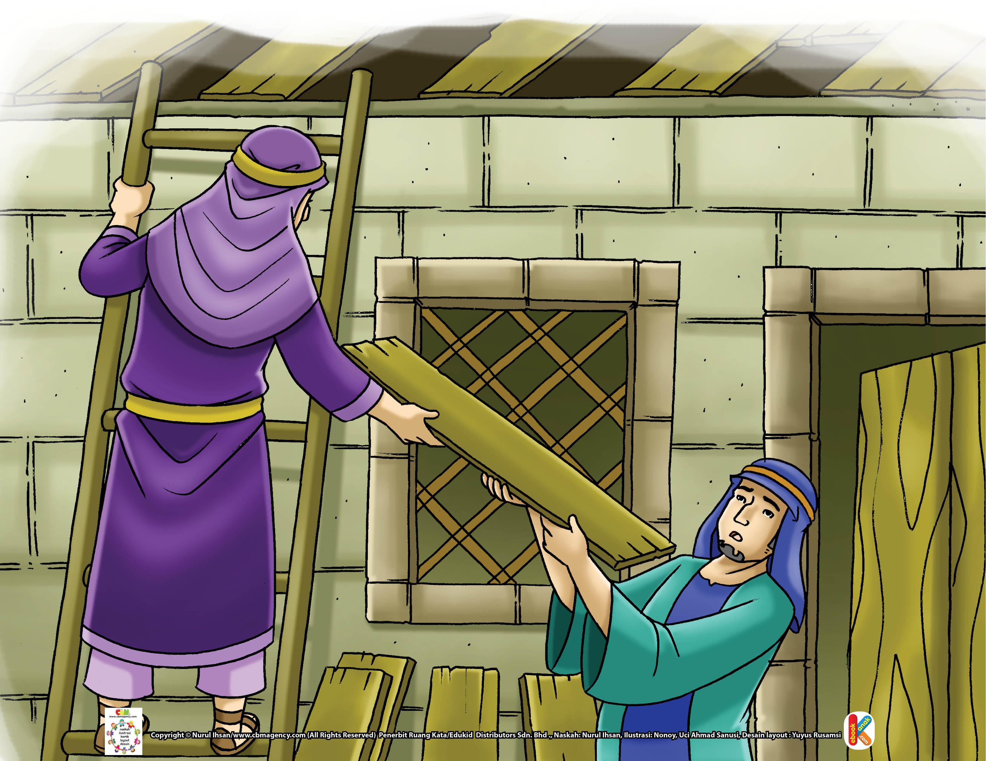 Saat Imam Malik tidak memiliki apa-apa lagi untuk bekal menuntut ilmu.